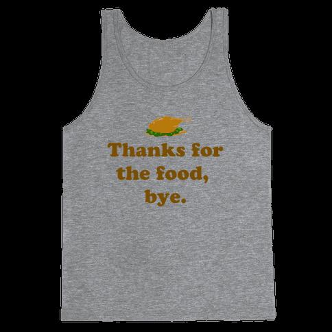 Thanksgiving Thanks Tank Top
