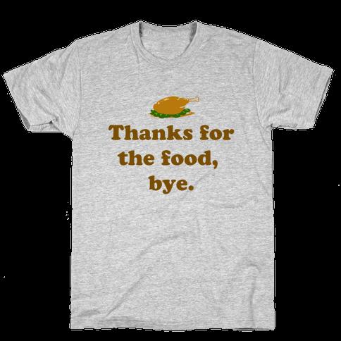 Thanksgiving Thanks Mens T-Shirt
