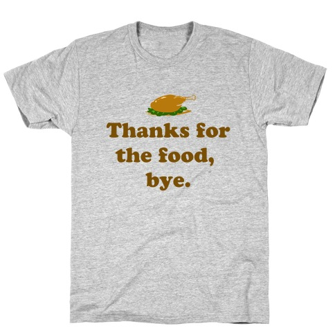 Thanksgiving Thanks Mens T-Shirt