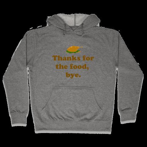Thanksgiving Thanks Hooded Sweatshirt
