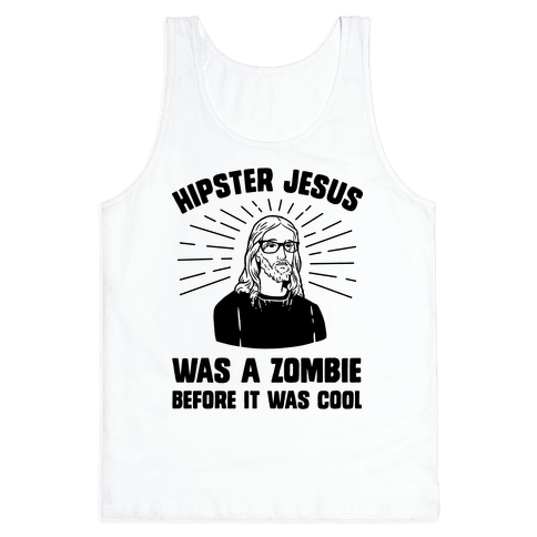 Hipster Jesus Was A Zombie Before It Was Cool