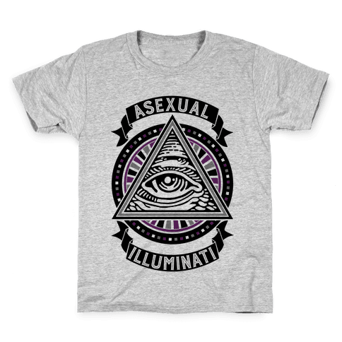 Asexual Illuminati Kids T-Shirt