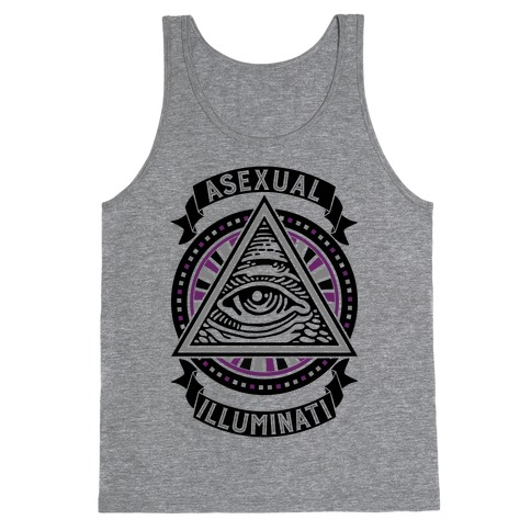 Asexual Illuminati Tank Top