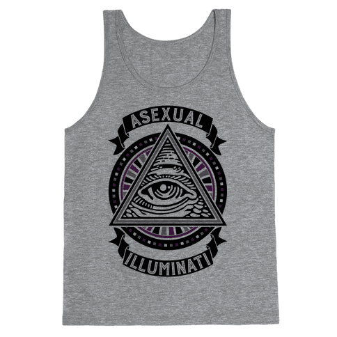 Asexual Illuminati Tank Top