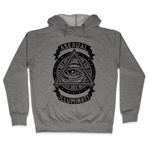 Asexual Illuminati Hooded Sweatshirt
