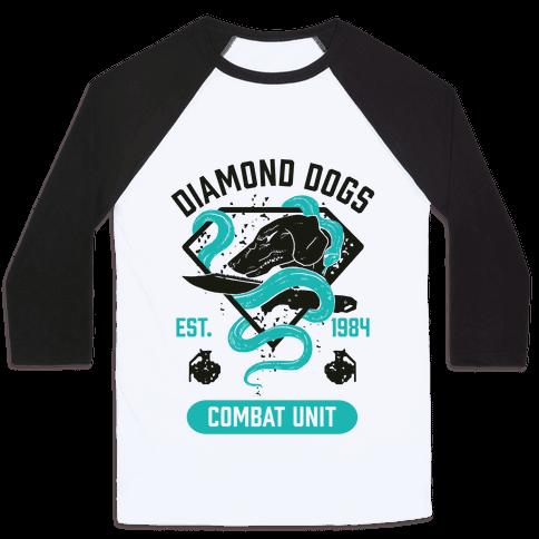 Diamond Dogs Combat Unit Baseball Tee