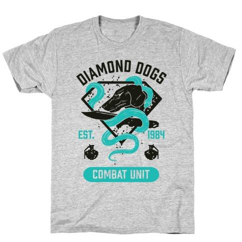 Diamond Dogs Combat Unit T-Shirt
