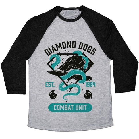 Diamond Dogs Combat Unit Baseball Tee