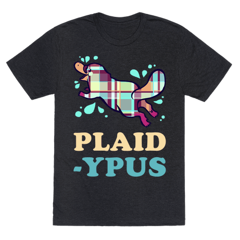 Plaidypus Mens T-Shirt