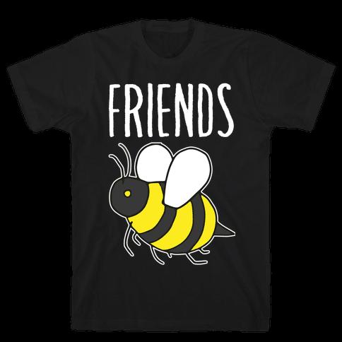Best Friends: Bee  Mens T-Shirt