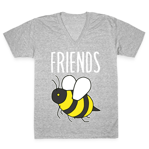 Best Friends: Bee  V-Neck Tee Shirt