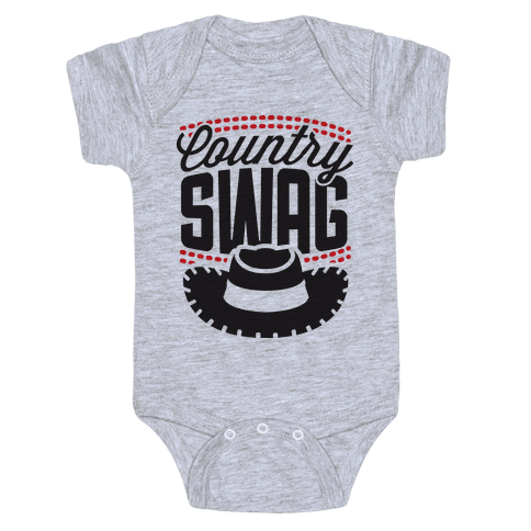 Country Swag Baby Onesy