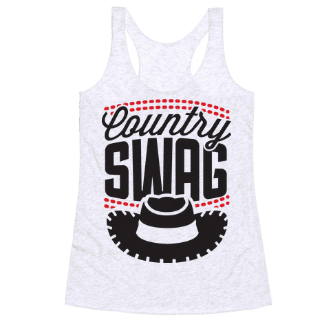 Country Swag Racerback Tank Top