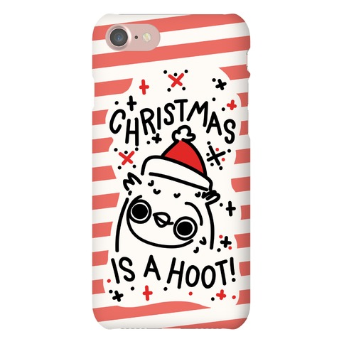 Christmas Is A Hoot Phone Case
