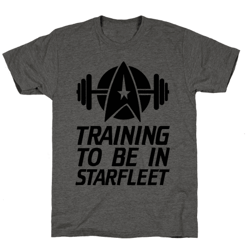 Training to be in Starfleet