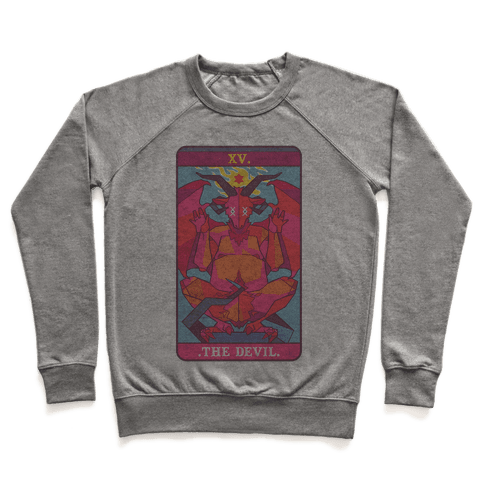 Devil Tarot Card Pullover