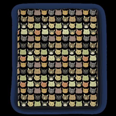Cat Faces Pattern Blanket