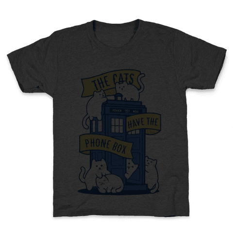 The Cats Have the Phone Box! Kids T-Shirt