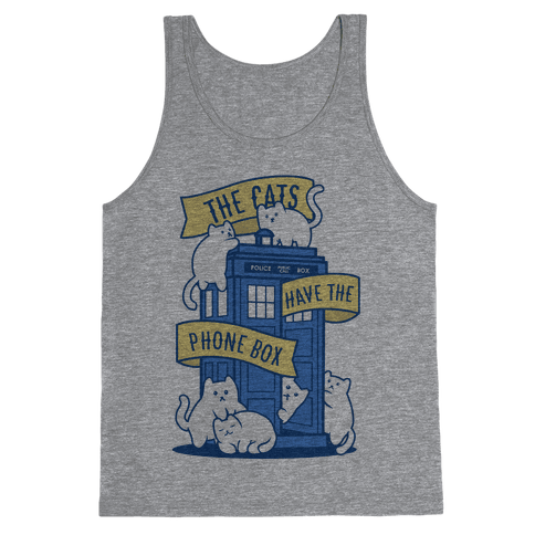 The Cats Have the Phone Box! Tank Top