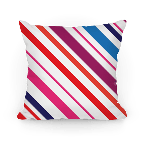 Colorful Striped Pillow Pillow