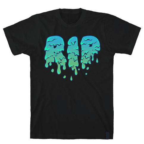 RIP Green Slime Mens T-Shirt