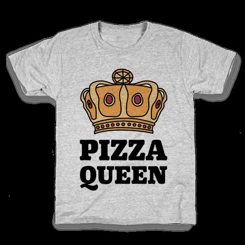 Pizza Queen Kids T-Shirt