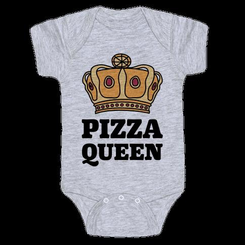 Pizza Queen Baby Onesy