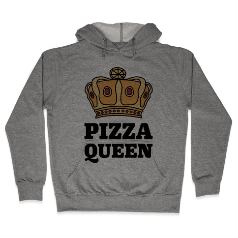 Pizza Queen Hooded Sweatshirt