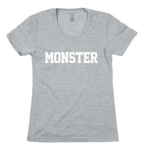 MONSTER Womens T-Shirt