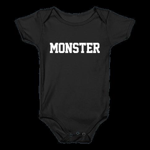 MONSTER Baby Onesy