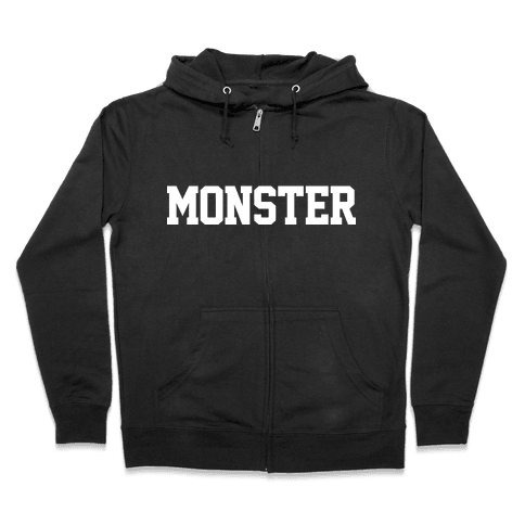 MONSTER Zip Hoodie