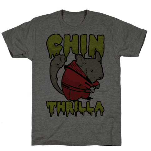 Chinthrilla Mens T-Shirt