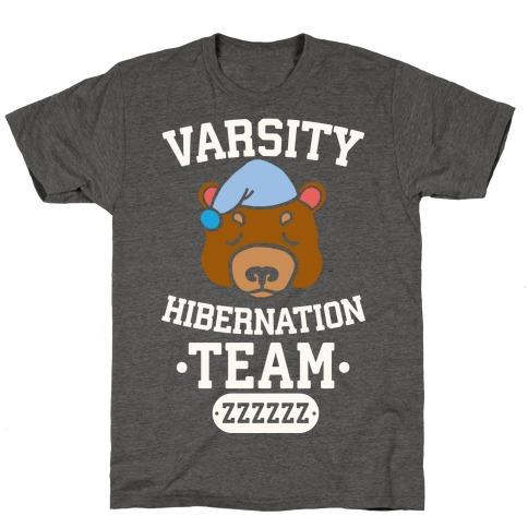 Varsity Hibernation Team T-Shirt
