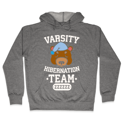 Varsity Hibernation Team Hooded Sweatshirt