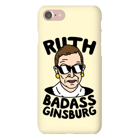 Ruth Badass Ginsburg Phone Case