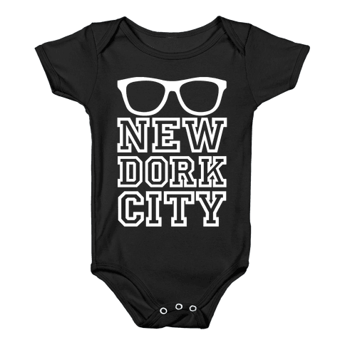 New Dork City Baby Onesy