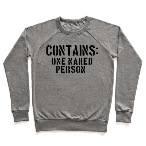 Contains: One Naked Person Pullover