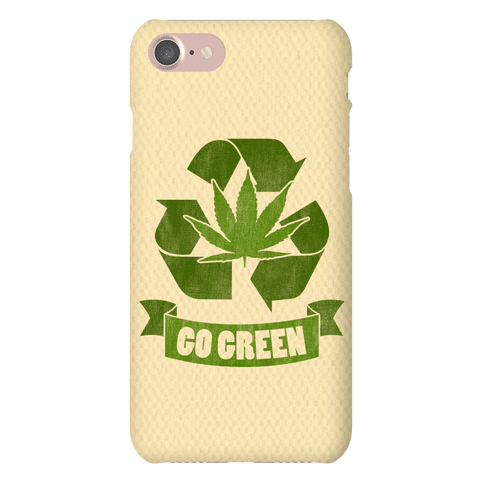 Go Green Phone Case