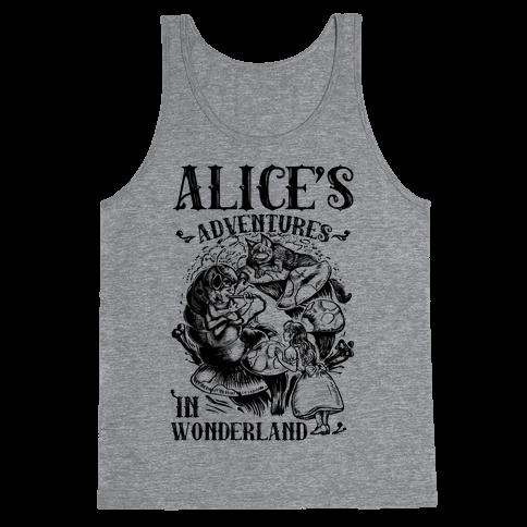 Alice's Adventures in Wonderland Tank Top