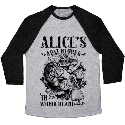 Alice's Adventures in Wonderland Baseball Tee