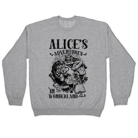 Alice's Adventures in Wonderland Pullover