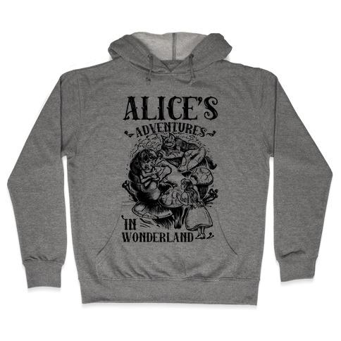 Alice's Adventures in Wonderland Hooded Sweatshirt