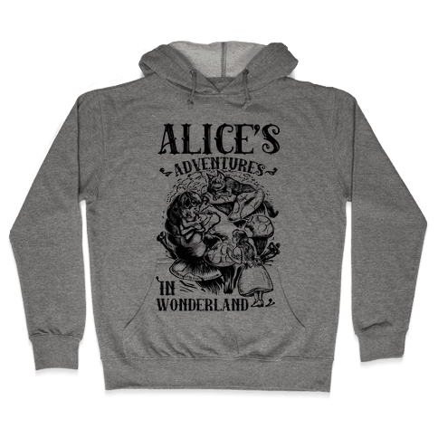 Alice's Adventures in Wonderland Hooded Sweatshirt