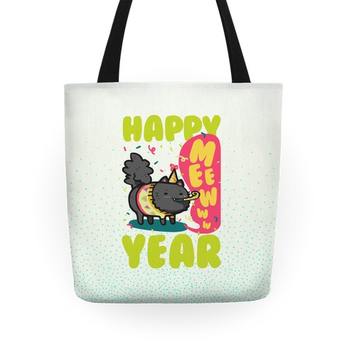 Happy Mew Year Tote