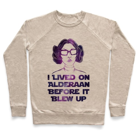 Hipster Leia Pullover