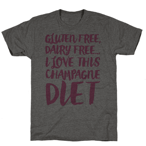 Champagne Diet Mens T-Shirt