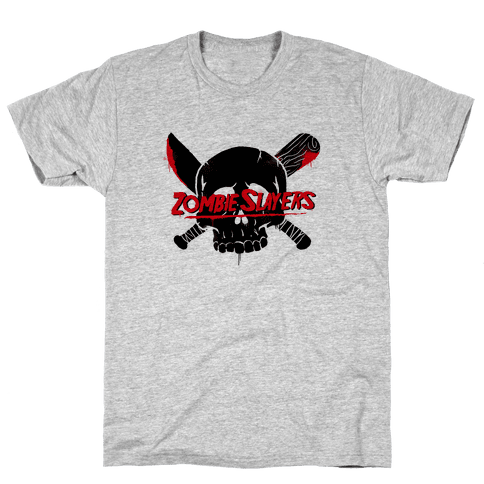 Zombie Slayers Mens T-Shirt