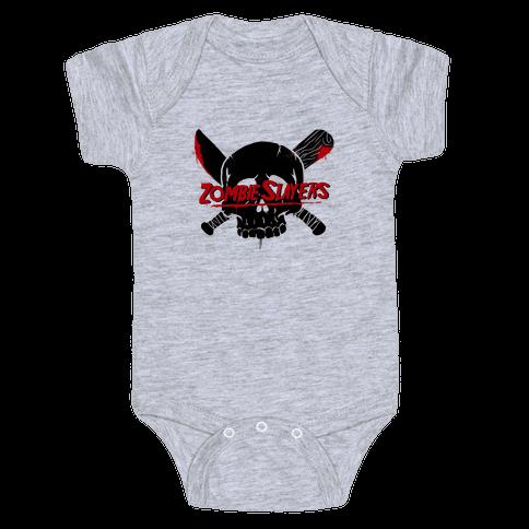 Zombie Slayers Baby Onesy
