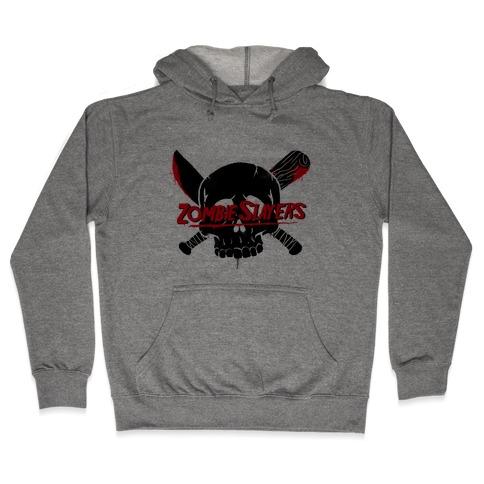 Zombie Slayers Hooded Sweatshirt