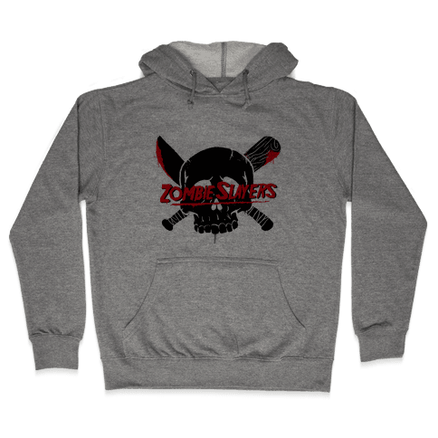 Zombie Slayers Hooded Sweatshirt
